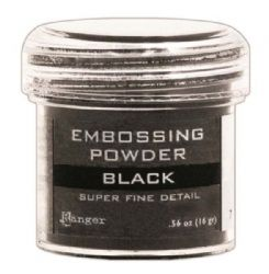 Ranger Embossing Powder - Super Fine Detail Black